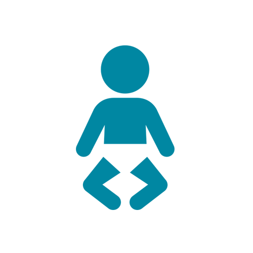 picto bebe bleu